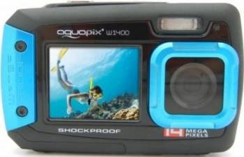 Aparat Foto Compact AquaPix W1400 Active Blue Aparate foto compacte