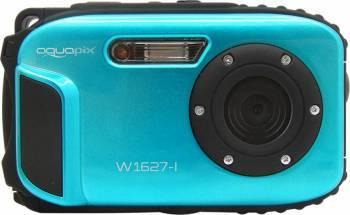 Aparat Foto Compact AquaPix W1627 Waterproof 16MPx Dustproof Shockproof Afisare Data Ocean Iceblue Aparate foto compacte