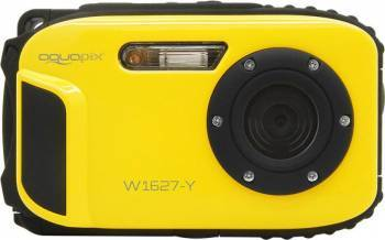 Aparat Foto Compact AquaPix W1627 Waterproof 16MPx Dustproof Shockproof Afisare Data Ocean Yellow Aparate foto compacte