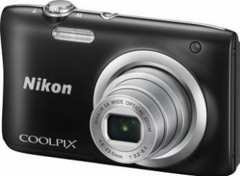 Aparat Foto Compact Nikon Coolpix A100 Negru Aparate foto compacte