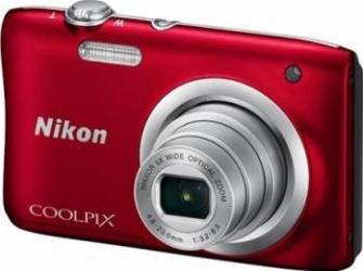 Aparat Foto Compact Nikon Coolpix A100 Rosu Aparate foto compacte
