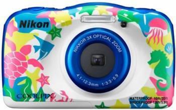 Aparat foto Compact Nikon Coolpix W100 13.2MP CMOS Marine Aparate foto compacte