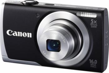 Aparat Foto Digital Canon PowerShot A2600 Black