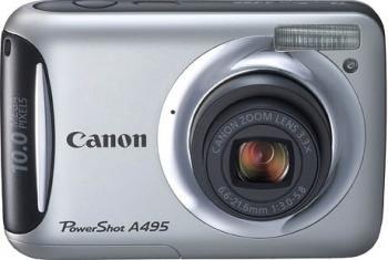 pret preturi Aparat Foto Digital Canon PowerShot A495 Silver