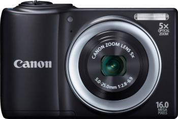Aparat Foto Digital Canon PowerShot A810 Black 16MPx