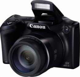 Aparat Foto Digital Canon PowerShot SX400 IS Black