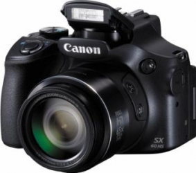 Aparat Foto Digital Canon PowerShot SX60 HS Negru Aparate foto compacte