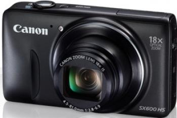 Aparat Foto Digital Canon PowerShot SX600 HS Negru