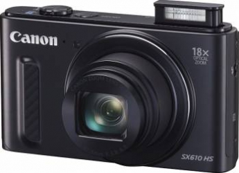Aparat Foto Digital Canon PowerShot SX610 HS Black