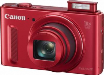 Aparat Foto Digital Canon PowerShot SX610 HS Red