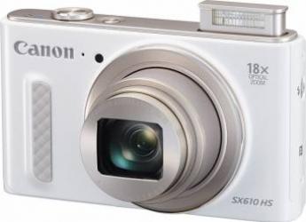 Aparat Foto Digital Canon PowerShot SX610 HS White