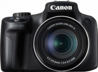 Aparat Foto Digital Canon PowerShot SX50 HS Black 12.1MP