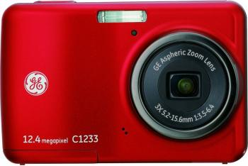 pret preturi Aparat Foto Digital General Electric C1233 Red