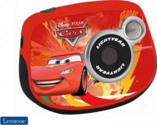 Aparat Foto Digital Lexibook Disney Cars Flash McQueen