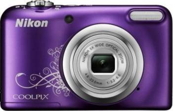 Aparat foto digital Nikon COOLPIX A10, 16.1MP Purple