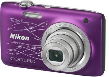 Aparat Foto Digital Nikon COOLPIX S2800 Purple lineart