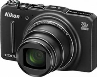 Aparat Foto Digital Nikon COOLPIX S9700 Black
