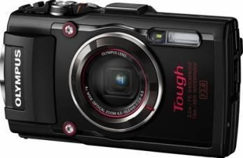 Aparat Foto Digital Olympus Stylus Tough TG-4 Black Aparate foto compacte