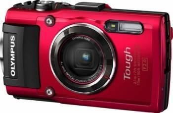 Aparat Foto Digital Olympus Stylus Tough TG-4 Red Aparate foto compacte