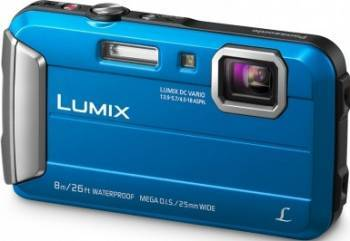 Aparat Foto Digital Panasonic DMC-FT30EP Blue Aparate foto compacte