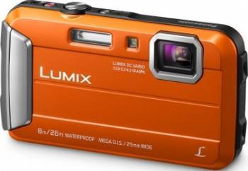 Aparat Foto Digital Panasonic DMC-FT30EP Orange Aparate foto compacte