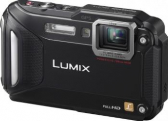 Aparat Foto Digital Panasonic DMC-FT5 Subacvatic Black Aparate foto compacte