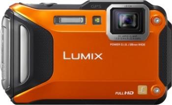 Aparat Foto Digital Panasonic DMC-FT5 Subacvatic Orange Aparate foto compacte