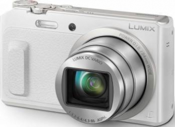 Aparat Foto Digital Panasonic Lumix TZ57EP White