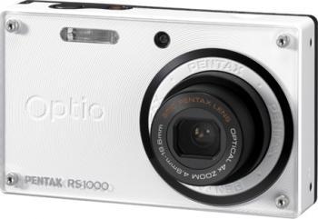 Aparat Foto Digital Pentax Optio RS1000 White