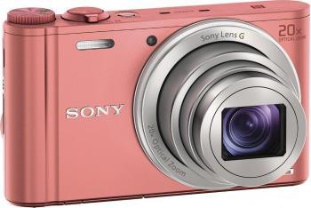 Aparat Foto Digital Sony Cyber-shot DSC-WX350 Roz