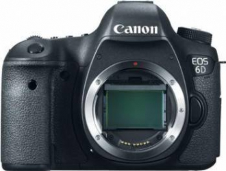 Aparat foto DSLR Canon EOS-6D Body 20.2 MP GPS-WIFI