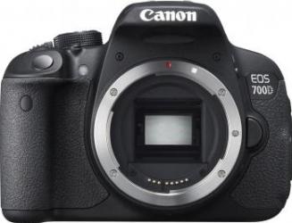 Aparat Foto DSLR Canon EOS 700D Body Black Aparate foto DSLR