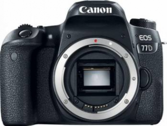 Aparat Foto DSLR Canon EOS 77D 24.2MP WiFi Body Aparate foto DSLR