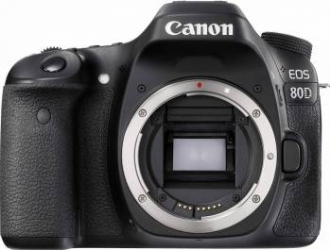 Aparat Foto DSLR Canon EOS 80D BK 24.2MP WiFi Body Aparate foto DSLR