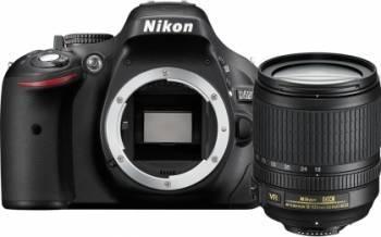 Aparat Foto DSLR Nikon D5200 kit 18-105mm VR Negru