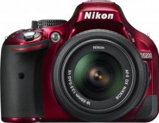 Aparat Foto DSLR Nikon D5200 kit AF-S DX 18-55mm f3.5-5.6 G VR R
