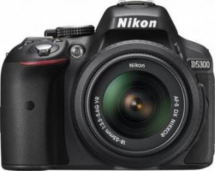 Aparat Foto DSLR Nikon D5300 Kit 18-55mm VR II Negru