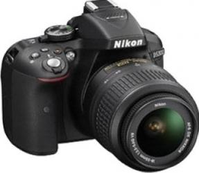 Aparat Foto DSLR Nikon D5300 Kit 18-55mm VR Negru
