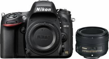 Aparat Foto DSLR Nikon D610, 24.3 MP + Obiectiv 50mm f/1.8G Aparate foto DSLR