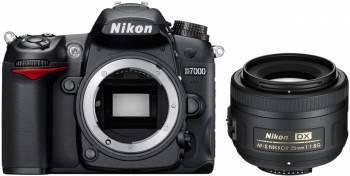 Aparat Foto DSLR Nikon D7000 Kit AF-S DX NIKKOR 35mm f1.8G