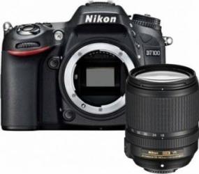 Aparat Foto DSLR Nikon D7100 Kit 18-140mm f3.5-5.6G ED VR AF-S DX