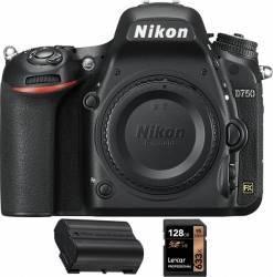 Aparat Foto DSLR Nikon D750 Body +card  128Gb + baterie EN-EL15a Aparate foto DSLR