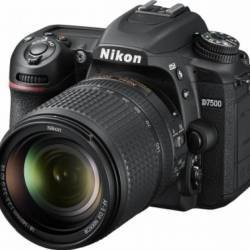 Aparat Foto DSLR Nikon D7500 20.9MP + Obiectiv 18-140mm VR Aparate foto DSLR