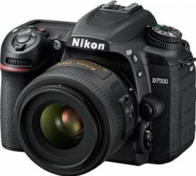 Aparat Foto DSLR Nikon D7500 20.9MP + Obiectiv 35mm f1.8G Aparate foto DSLR