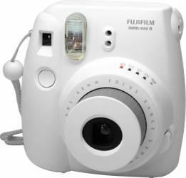 Aparat Foto Instant Fujifilm Instax Mini 8 Alb Aparate Foto Film