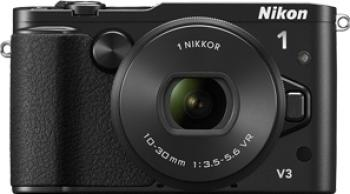 Aparat Foto Mirrorless Nikon 1 V3 kit 10-30mm VR PD-Zoom Black
