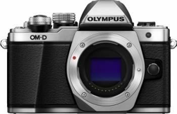 Aparat foto Mirrorless Olympus E-M10 Mark II Argintiu Aparate Foto Mirrorless
