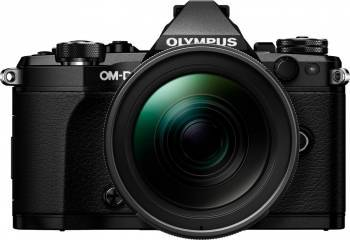 Aparat Foto Mirrorless Olympus E-M5 Mark II black + EZ-M1240 PRO black Aparate Foto Mirrorless