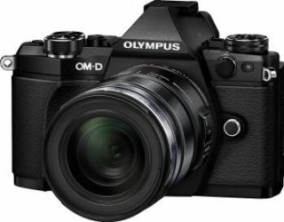 Aparat Foto Mirrorless Olympus E-M5 Mark II black + EZ-M1250 black Aparate Foto Mirrorless