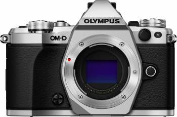 Aparat Foto Mirrorless Olympus E-M5 Mark II Body Silver Aparate Foto Mirrorless